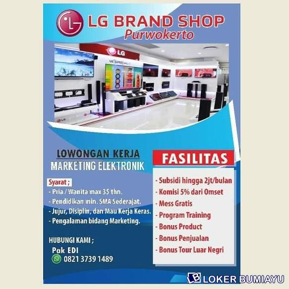 LG Brand Shop Purwokerto