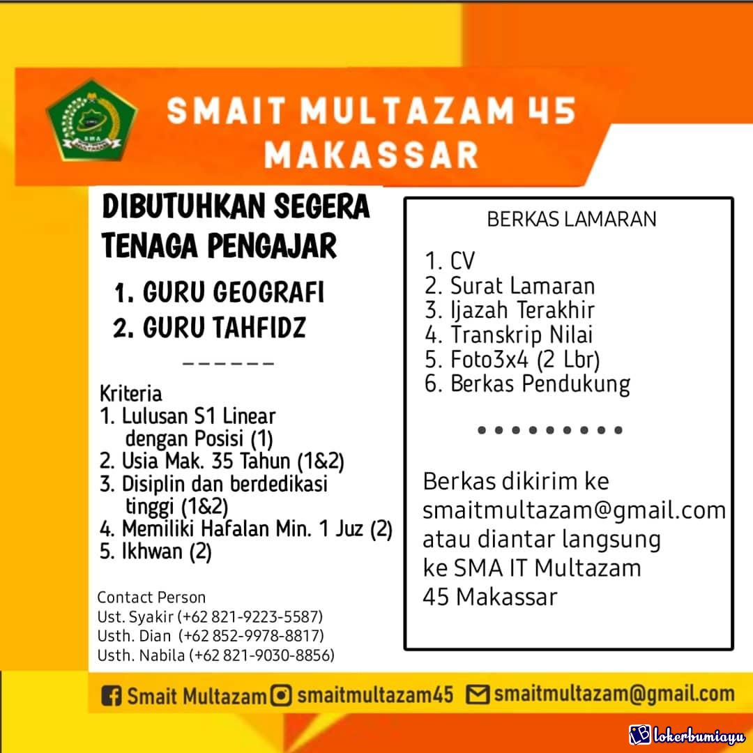 SMA IT Multazam 45 Makassar