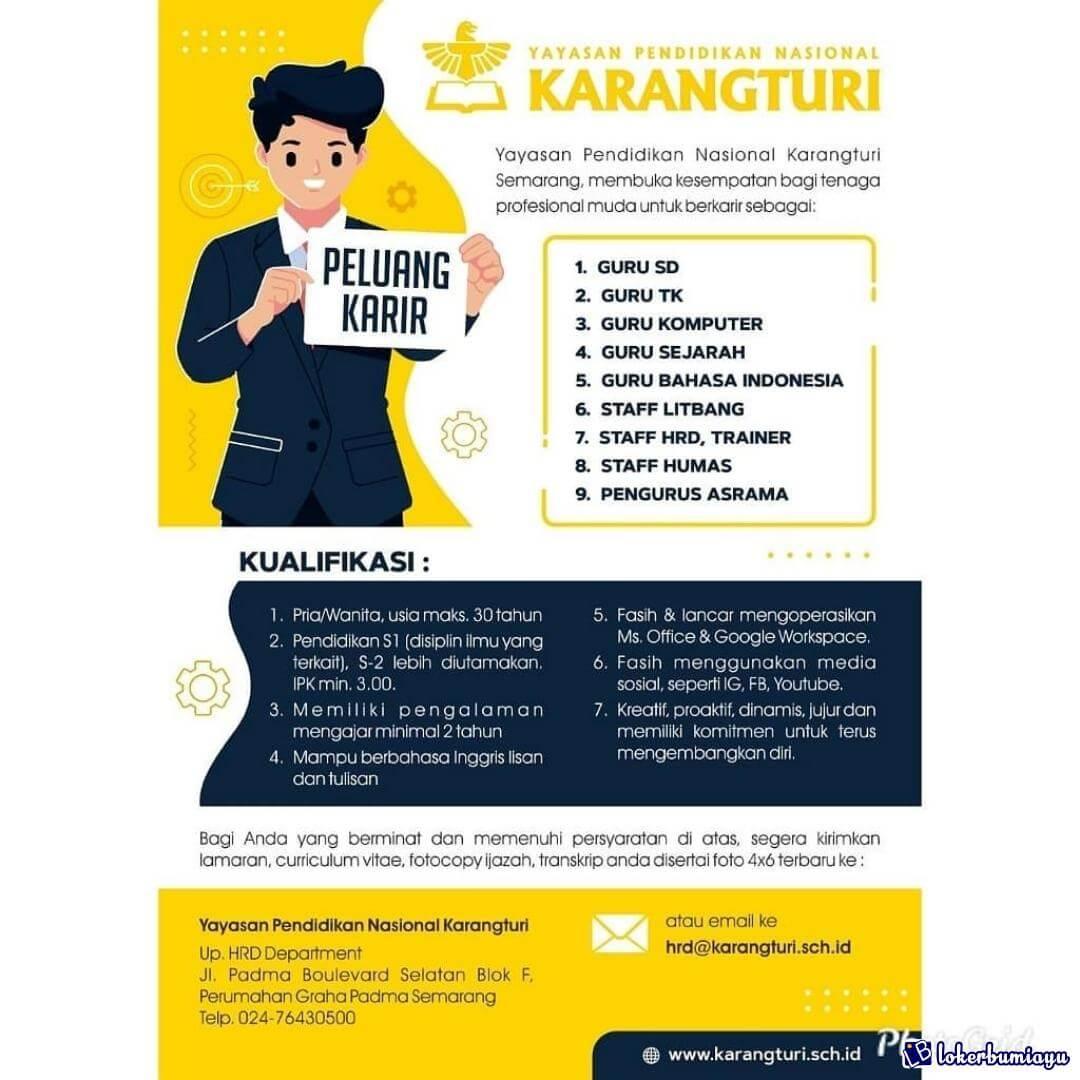 Yayasan Pendidikan Nasional Karangturi Semarang