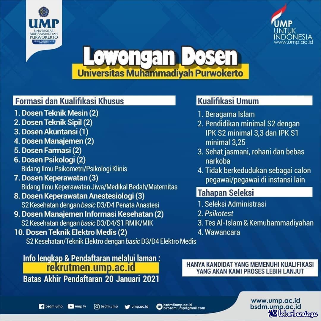 Universitas Muhammadiyah Purwokerto UMP