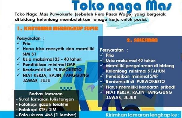 Toko Naga Mas Purwokerto