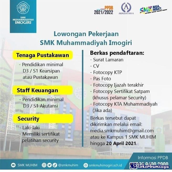 SMK Muhammadiyah 1 Imogiri