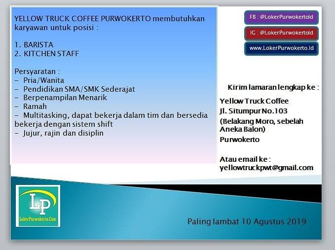 YELLOW TRUCK COFFEE PURWOKERTO