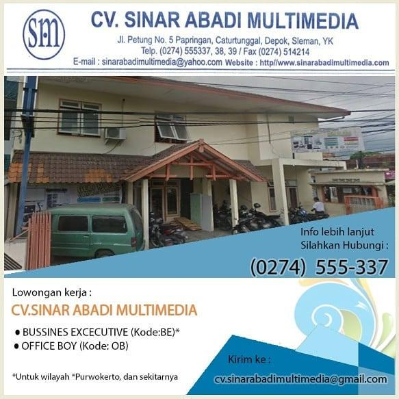 CV. SINAR ABADI MULTIMEDIA