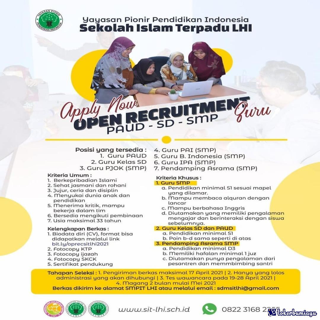 Sekolah Islam Terpadu LHI