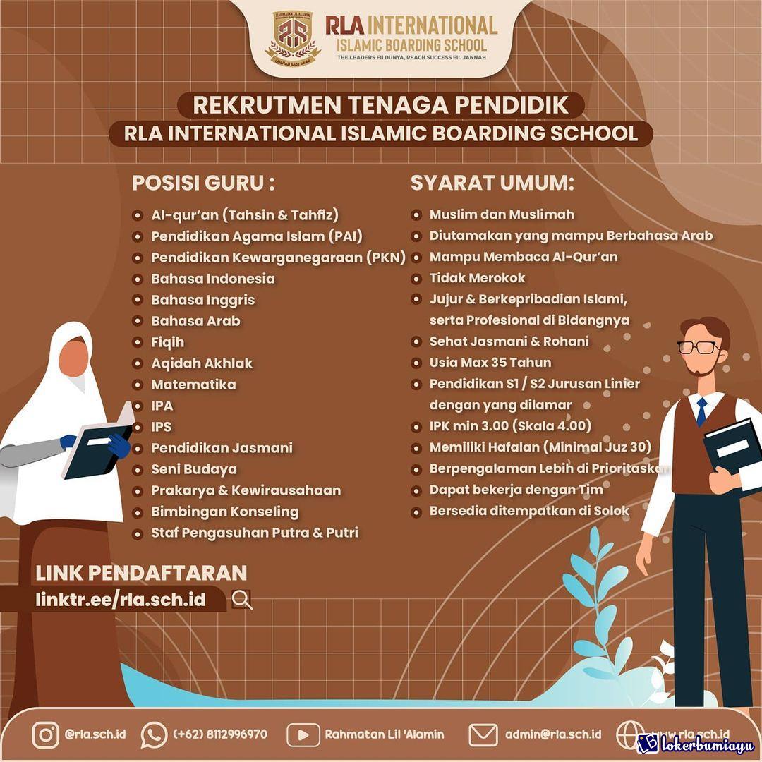 Rahmatan Lil Alamin School Solok