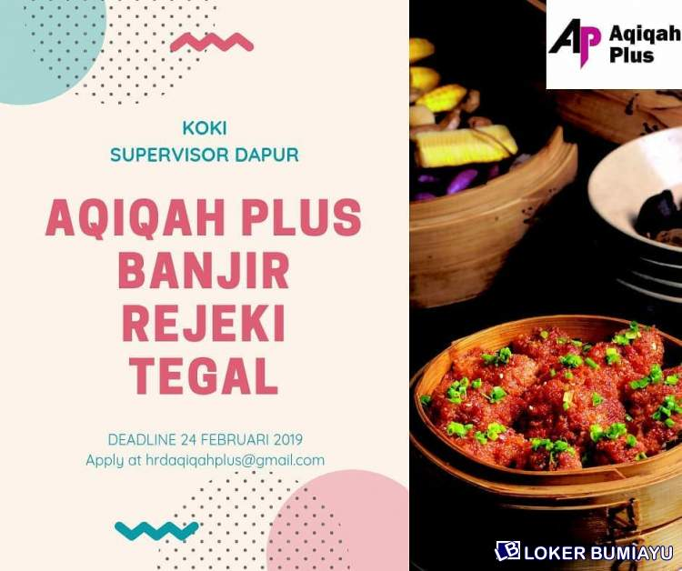 AQIQAH PLUS BANJIR REJEKI TEGAL