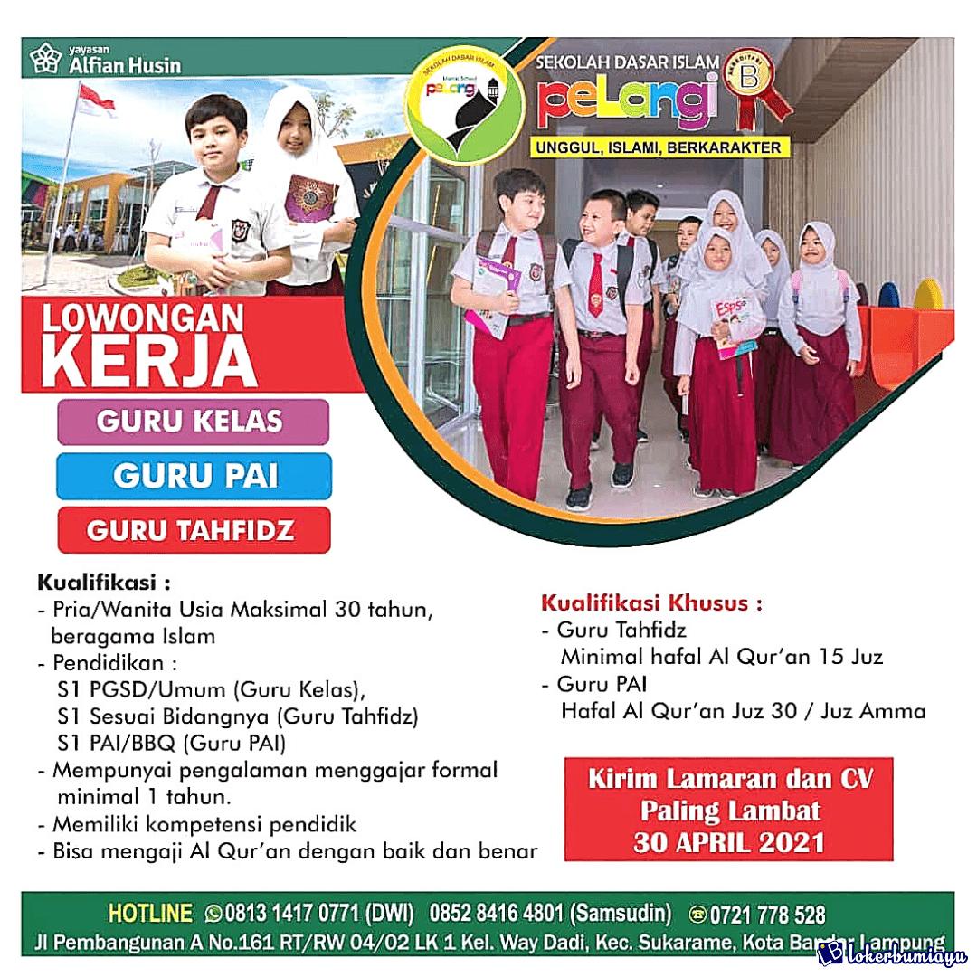 SD Islam Pelangi Bandar Lampung