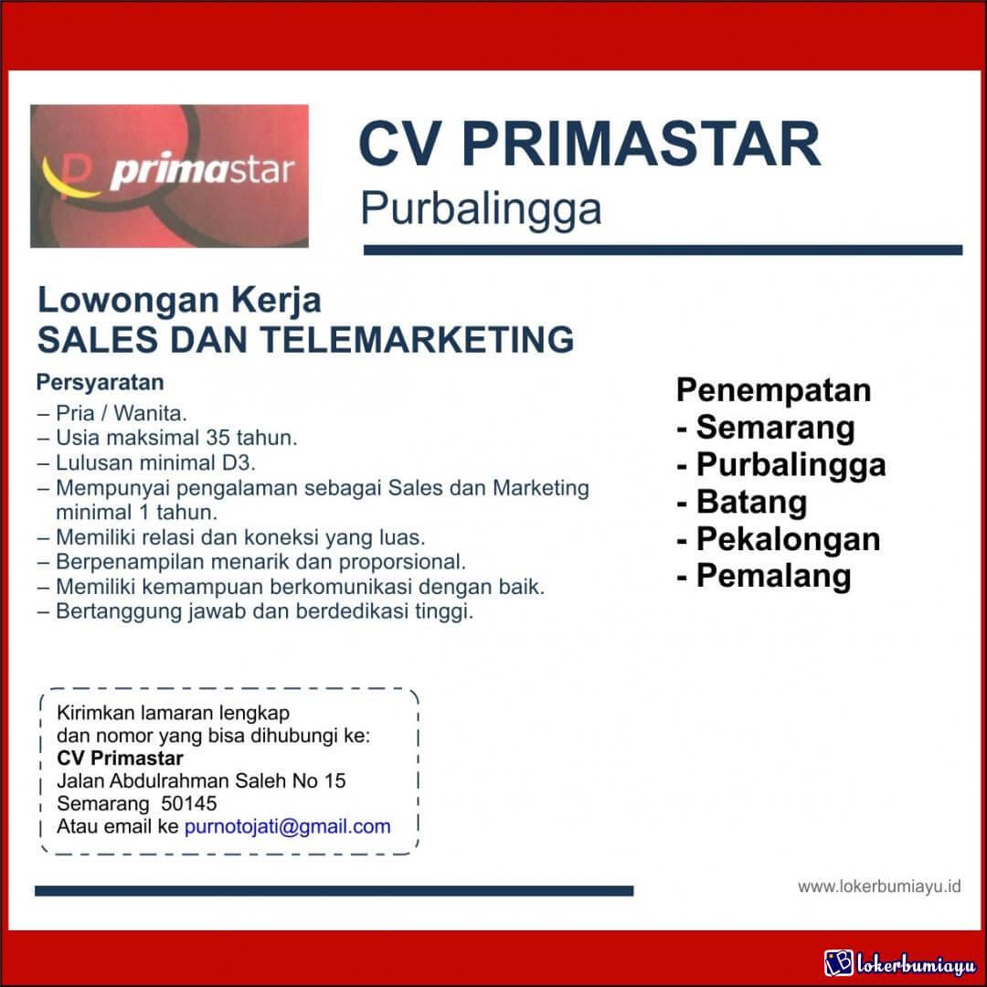 CV Primastar Purbalingga