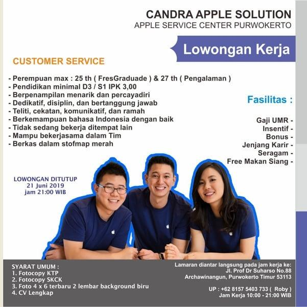 CANDRA APPLE SOLUTION