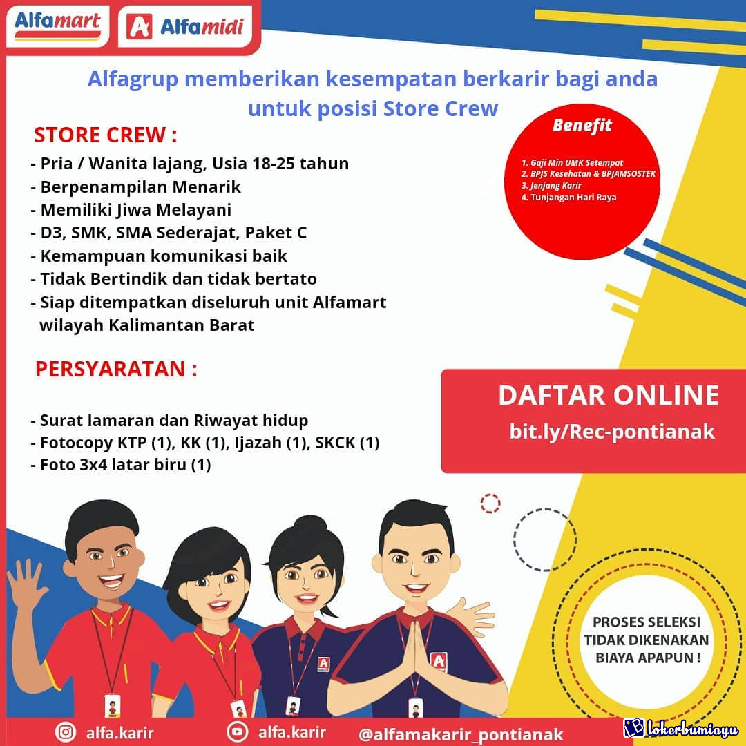 Lowongan Kerja Di Pontianak Kalimantan Barat Juni 2021