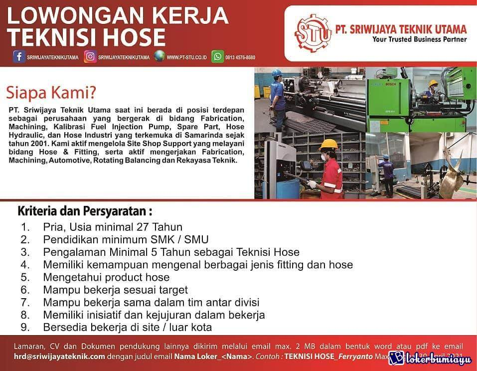 PT Sriwijaya Teknik Utama Samarinda