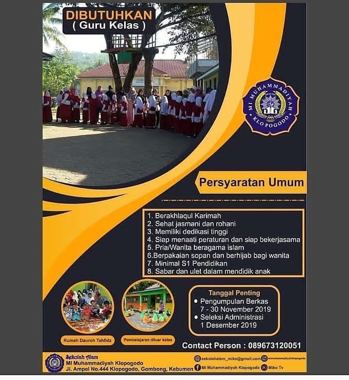 MI Muhammadiyah Klopogodo